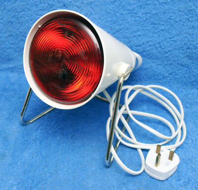 Vintage Philips Infraphil Hp3609/s Infrared Heat Lamp Boxed Tested