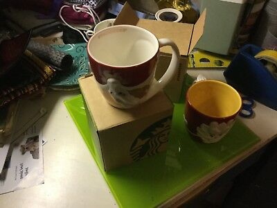 Collectable STARBUCKS large mug New never used Unwanted gift