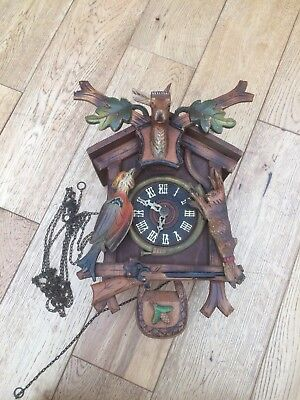 U.G.M  Angem  Cuckoo Clock Antique (parts/repair)