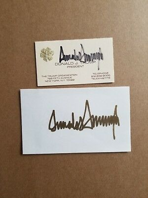Donald Trump Signed Autograph National Doral Flag Golf 2016