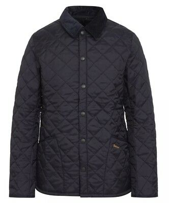 Barbour Heritage Liddesdale Jacket, NWT, New with Tags Men's, Size S, Navy Blue