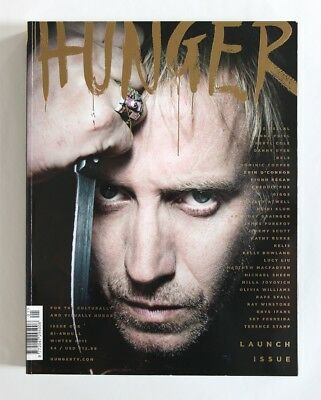 HUNGER Magazine Launch Issue #1 Winter 2011