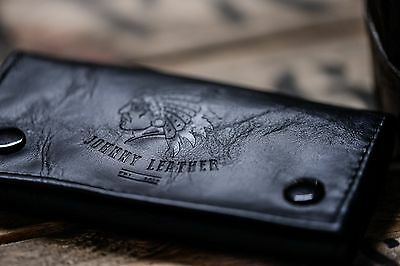 Black Tobacco Pouch - Johnny Leather.