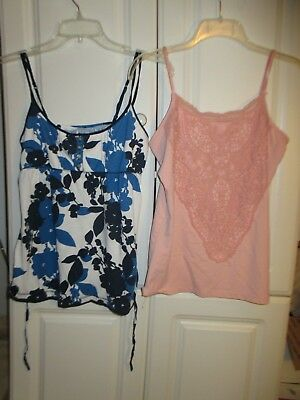 lot of 2 woman's tank top Boutique Essentials & aeropostale size L/G  & M