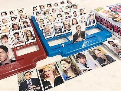 The Office tv show, the Office Guess Who, The Office Game, The Office gift