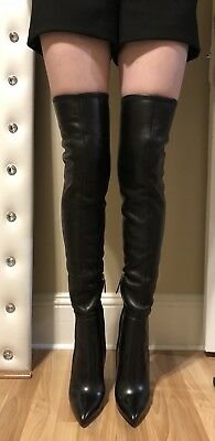 bfaeb765582 BRAND NEW TOM Ford Black Suede Over The Knee Boots Size 37 -  795.00 ...