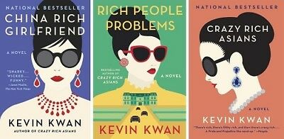 COLLECTION Crazy Rich Asians+China Rich Girlfriend+Rich People Problems