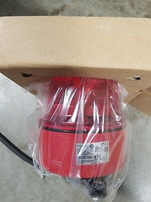 Rotating Mirror,Red,120VAC SCHNEIDER ELECTRIC XVR13G04L