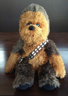 "Build A Bear Star Wars Chewbacca Chewie 21"" Plush w/ Star Wars Theme Song Sound"