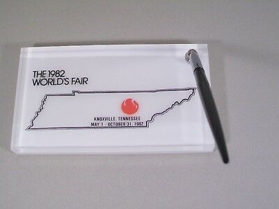World'S Fair Knoxville, Tennessee May 1-October 31, 1982 Pen & Base Desk Set