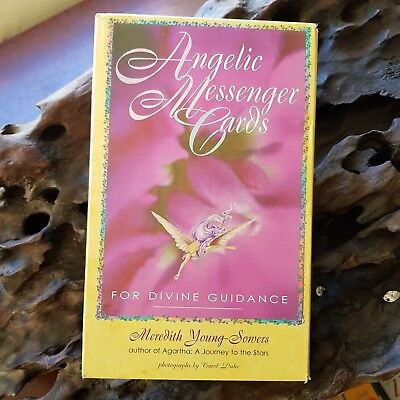 Angelic Messenger Cards For Divine Guidance Tarot OOP Boxed Set Book and Cards