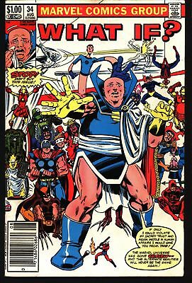 Marvel Comics WHAT IF Issue 34, 40 (vol 1) - Dr Strange, Parody Issue