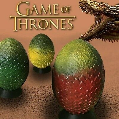 Game Of Thrones - 1 Oeuf Dragon Daenerys Drogon / Rhaegal / Viserion - Statue