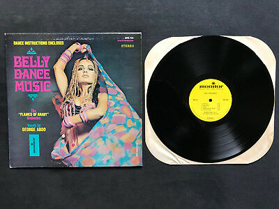 """George Abdo & The Flames of Araby Orchestra - Belly Dance Music (US-12"""" LP)"""