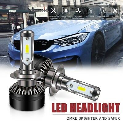 H7 Led Headlight 6000LM6500K DOT Approved All-in-One Conversion Kit For Hyundai