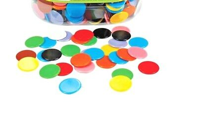 Maths Round Counters 200pk: 22mm  Teaching Resources