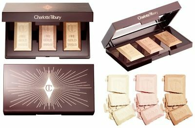Charlotte Tilbury Bar of Gold Highlighter Palette 100% Authentic w/rec NO Fees