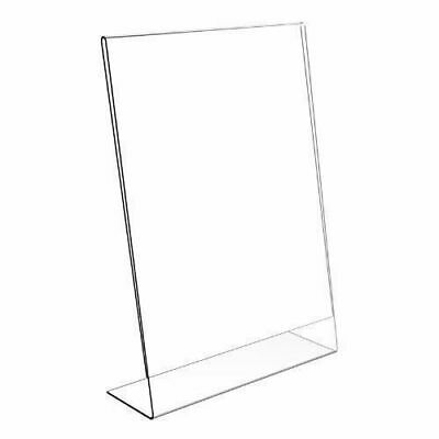 Acrylic Poster Menu Holder Lean To Perspex Display Stands A3, A4, A5, A6, A7 A8