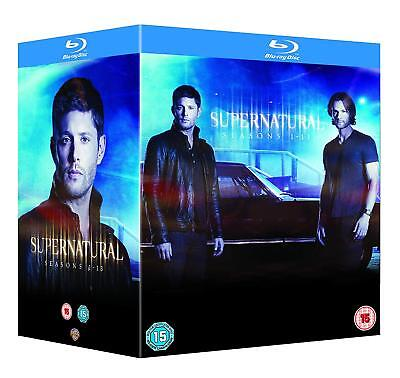 "Supernatural Complete Season 1-13 Collection Box Set 47 Disc Blu-Ray Rb ""sealed"""