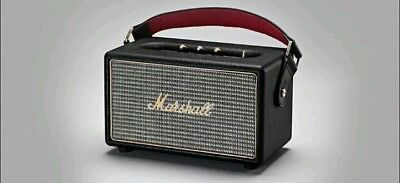 Marshall Kilburn Porable Bluetooth Speaker - Black-100% BRAND NEW FACTORY SEALED