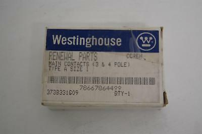 Westinghouse 373B331G09 Type A Size 1 3 & 4 pole main contact