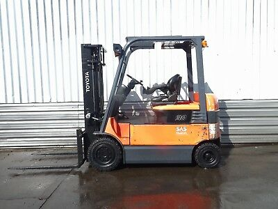 TOYOTA 7FBMF30. 3300mm LIFT. USED ELECTRIC FORKLIFT TRUCK. (#2015)