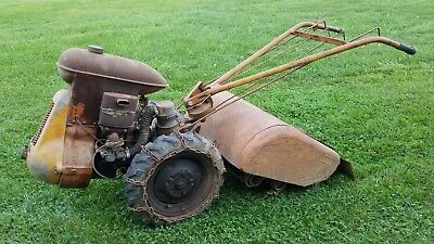 Vintage 28 inch Frazer rototiller, B 1 - 6  Antique Garden Equipment #2