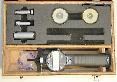 Mitutoyo 568 Borematic Absolute Digimatic Snap Bore Gage Set, 12-100 mm, 0.001mm