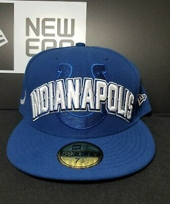 5b595020e Indianapolis Colts New Era 59Fifty Official 2012 NFL Draft Hat Cap Size 7