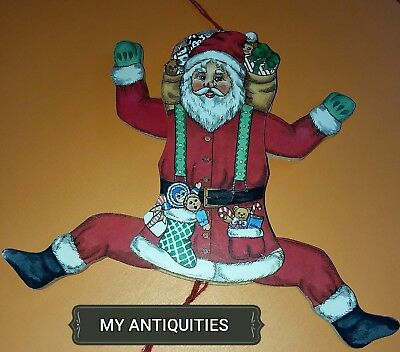 Santa Claus Toy Vintage, Pristine, Just In Time For  Christmas 🎄