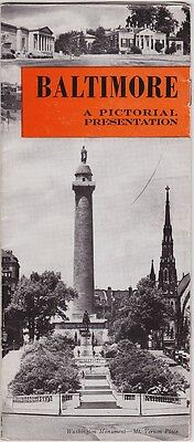1930's Baltimore Maryland Promotional Brochure