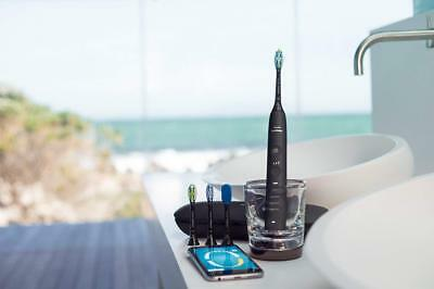 Philips Sonicare Electric Toothbrush DiamondClean Smart Rechargeable 4 Heads O/B