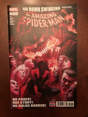 AMAZING SPIDER-MAN (2017 Marvel) #800 Alex Ross Red Goblin NM- First Print