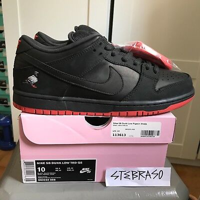 half off 4e979 e37fe Zapatillas Nike SB Dunk Low TRD QS Black Pigeon 10US 44EUR Limited edition  DS