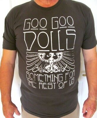 GOO GOO DOLLS- Something For The Rest Of Us 2010 Concert Tour T Shirt-LARGE- EUC