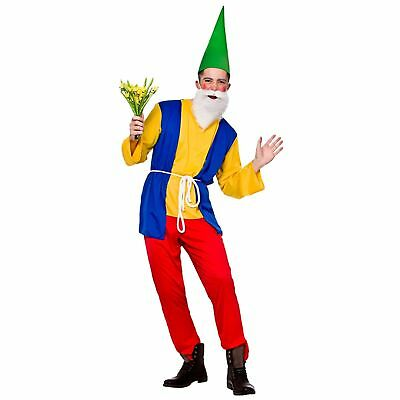 Funny Gnome Comedy Novelty Comedian Fairytale Adults Mens Fancy Dress Costume