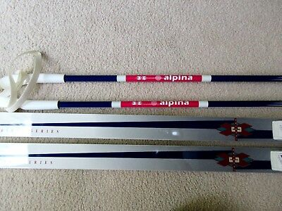 Skis Cross Country Skiing Winter Sports Sporting Goods PicClick - Alpina xc skis