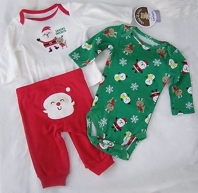 CHRISTMAS BABY 3-piece 3-6 months