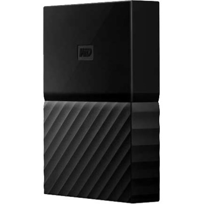 WD My Passport 2TB-BLK 7mm USB 3.0 Portable HDD Western Digital