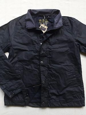 Barbour Islay Men's Dry  Waxed Cotton Jacket , Size  L   MSRP $379