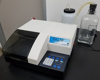 BioTek ELx50 8 Channel Automated Microplate Strip Washer + Warranty j2