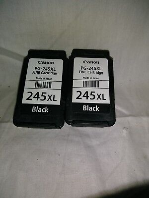 2  pack Genuine Canon  Empty  Ink Cartridges PG  245 XL