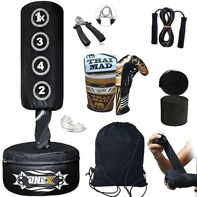 Kids/Junior Boxing FREE STANDING Punch bag Set Freestanding Punching Bag Set