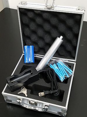 Brand New Hand Held Tissue Homogenizer Grinder + Case u4