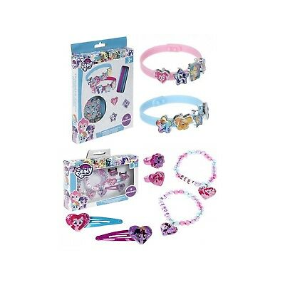 Kids 6Pcs Best Friend Set,Girls Bracelet & Charm Set My Little Pony Xmas Gift