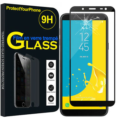 Vitre De Protection Écran Film Verre Trempe Samsung Galaxy J6 (2018)/ On6 (2018)