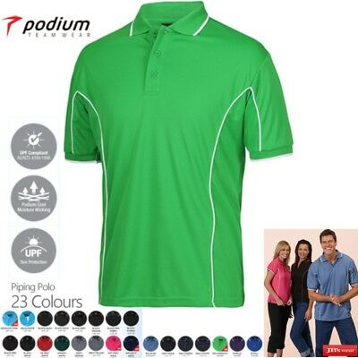 NEW! JB'S Mens Piping Polo Shirt 7PIP | ALL COLOURS | ALL SIZES S-5XL
