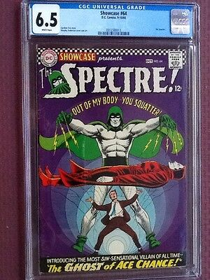 Showcase 64, cgc 6.5, Spectre appearance, White Pages!