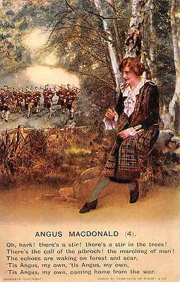 Scottish Song: Angus MacDonald (4) Oh, hark! there's a stir! men marching