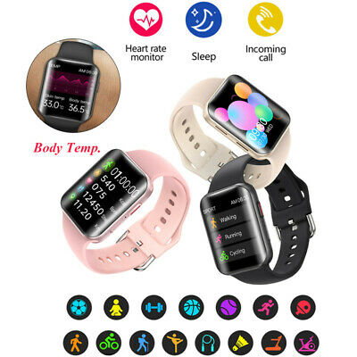 Fashion Women's Bluetooth Smart Watch Heart Rate Monitor Sports for IOS Android